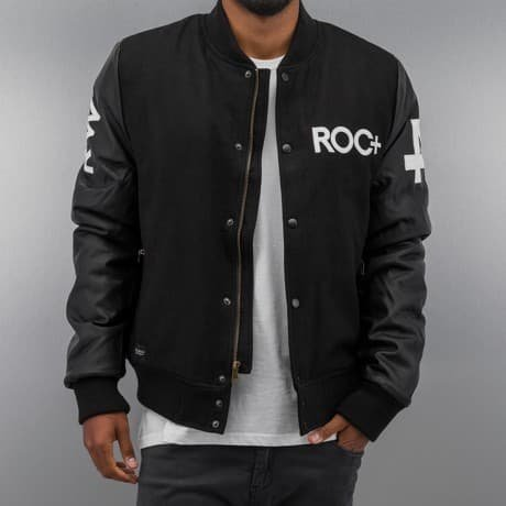 Rocawear Collegetakki Musta