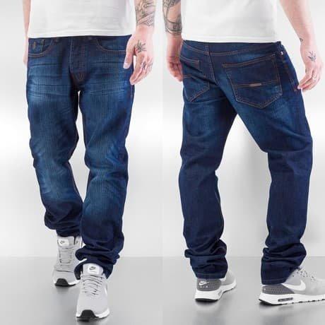 Rocawear Straight Fit Farkut Sininen