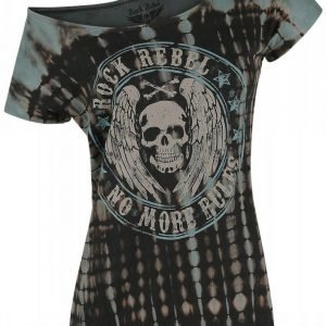 Rock Rebel By Emp Circle Batik Style Shirt Naisten T-paita