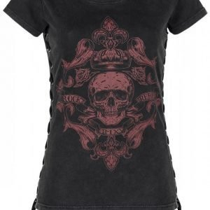 Rock Rebel By Emp Corded T Shirt Naisten T-paita