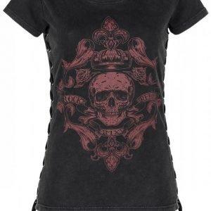 Rock Rebel By Emp Corded T Shirt Naisten T-paita