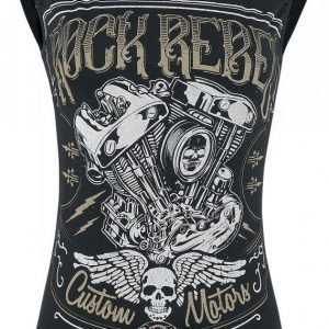 Rock Rebel By Emp Custom Motors Top Naisten Toppi