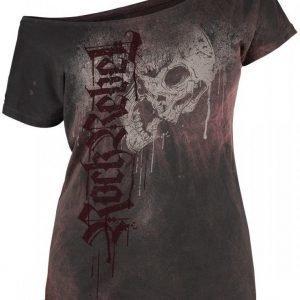 Rock Rebel By Emp Drops Skull Shirt Naisten T-paita