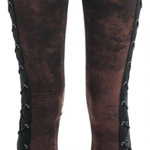 Rock Rebel By Emp Eyelet Lace Up Leggings Legginsit