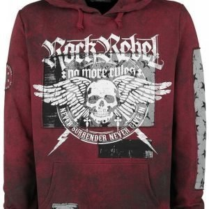 Rock Rebel By Emp Flying Skull Hoodie Huppari