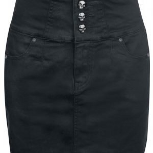 Rock Rebel By Emp High Waist Skull Skirt Minihame