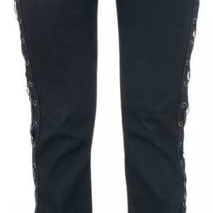 Rock Rebel By Emp Laced Grace Boot Cut Naisten Farkut