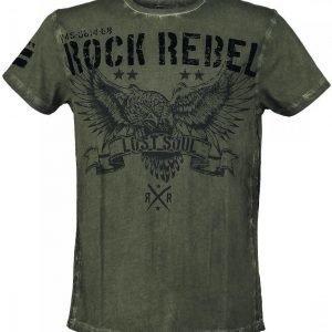 Rock Rebel By Emp Lost Soul T-paita