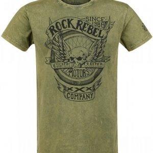 Rock Rebel By Emp Motors Company T-paita