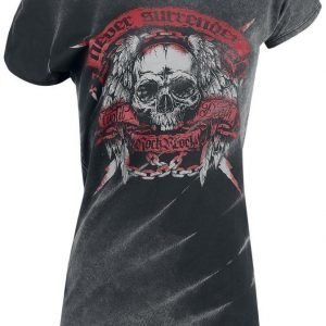 Rock Rebel By Emp Never Surrender Batik Shirt Naisten T-paita