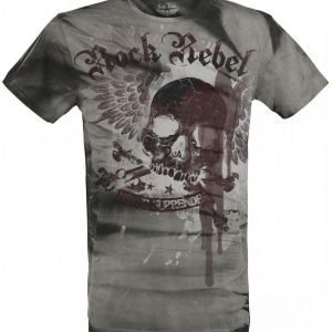 Rock Rebel By Emp Never Surrender T-paita