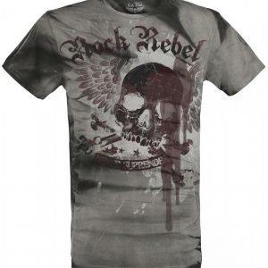 Rock Rebel By Emp Never Surrender T-paita
