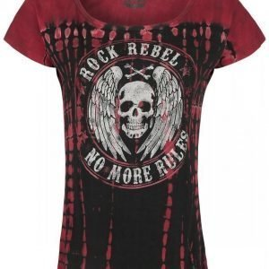 Rock Rebel By Emp No More Rules Batik Circle Naisten T-paita