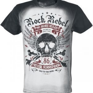 Rock Rebel By Emp No More Rules T-paita