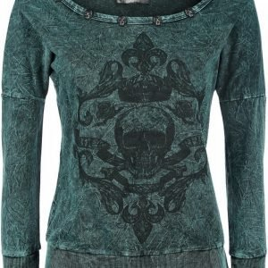 Rock Rebel By Emp Royal Skull Sweatshirt Naisten Svetari