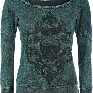 Rock Rebel By Emp Royal Skull Sweatshirt Naisten Svetari