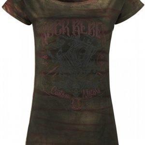 Rock Rebel By Emp Rusty Wash Custom Motors Naisten T-paita