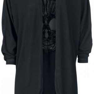 Rock Rebel By Emp Skull Cardigan Naisten Neuletakki