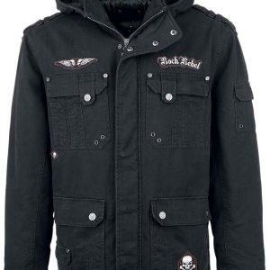 Rock Rebel By Emp Skull Jacket Ii Talvitakki
