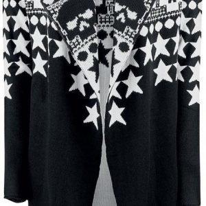 Rock Rebel By Emp Skull & Stars Cardigan Naisten Neuletakki
