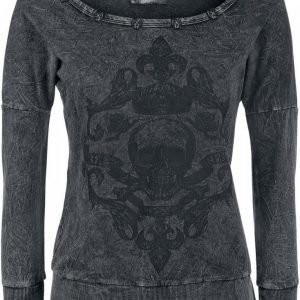 Rock Rebel By Emp Skull Vintage Sweater Naisten Svetari