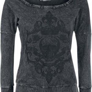 Rock Rebel By Emp Skull Vintage Sweater Naisten Svetari