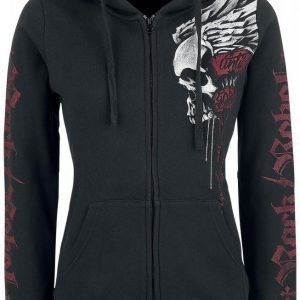 Rock Rebel By Emp Winged Skull Hoodie Jacket Naisten Huppari