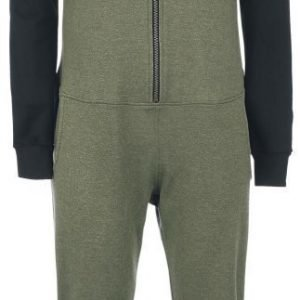 Rockupy Army Jumper Jumpsuit