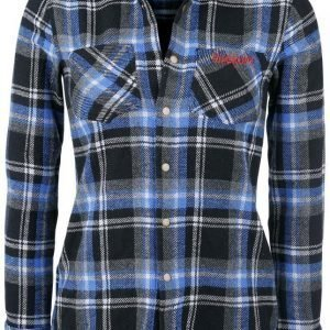 Rockupy Woman Plaid Shirt Naisten Pusero