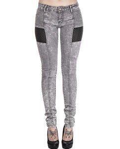 Rosa Biker Jeans