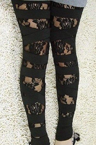 Rose mustat leggingsit - Vaatekauppa24.fi 66c4c46dbd