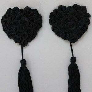 Rose mustat pasties