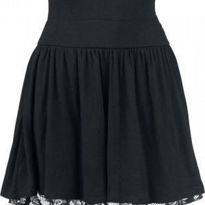 Rotterdamned Floral Lace Skirt Hame