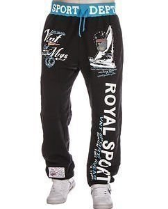 Royal Jogger Black/Blue