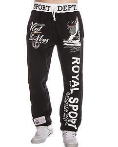 Royal Jogger Black/White