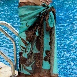 Ruskeaturkoosi sarong