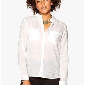 Rut & Circle Cornelia Shirt 002 Optical White