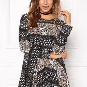 Rut & Circle Ellen Dress 061 Olive Comb