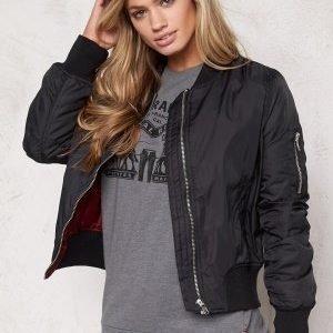 Rut & Circle Kate Bomber Jacket Black