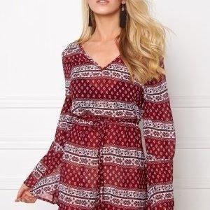 Rut & Circle Keira Dress 804 Red Comb