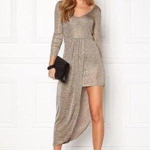 Rut & Circle Kelly wrap dress 513 Gold