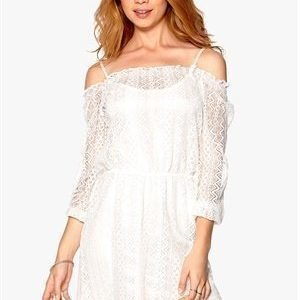 Rut & Circle Kylie Lace Dress 003 Creme