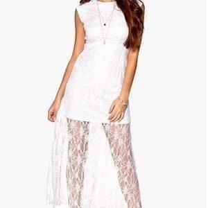 Rut & Circle Lina Dress 002 Optical White