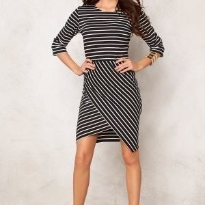 Rut & Circle Lisa Dress Black Stripe