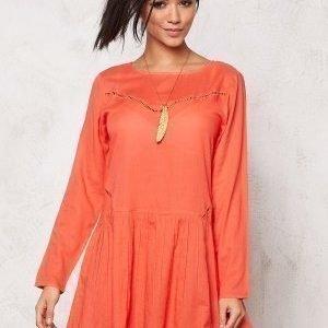 Rut & Circle Masie Dress Pop Coral