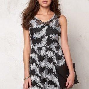 Rut & Circle Michelle Dress Black/White