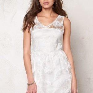 Rut & Circle Michelle Dress White
