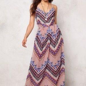 Rut & Circle Millie Long Dress Sharp Comb