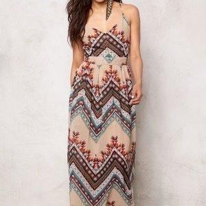 Rut & Circle Millie Long Dress Soft Comb