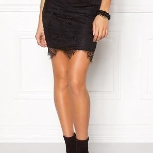 Rut & Circle Nadia lace skirt 001 Black